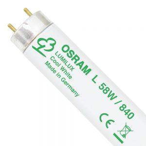 Osram L 58W 840 Lumilux | 150cm - Koel Wit