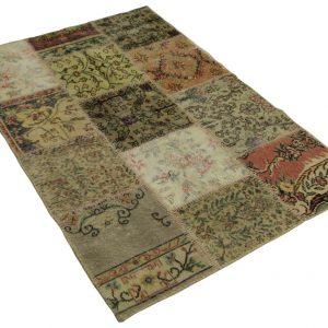 patchwork vloerkleed 180cm x 120cm