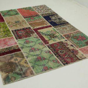 patchwork vloerkleed 240cm x 170cm