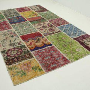 patchwork vloerkleed 300cm x 198cm