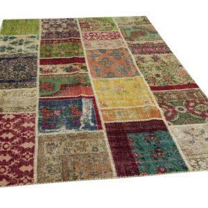 patchwork vloerkleed 300cm x 200cm