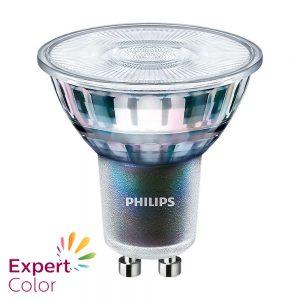 Philips LEDspot ExpertColor GU10 5.5W 927 36D (MASTER) | Beste Kleurweergave - Zeer Warm Wit - Dimbaar - Vervangt 50W