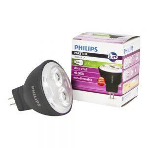 Philips LEDspot LV GU4 MR11 3.5W 827 24D (MASTER) | Zeer Warm Wit - Vervangt 20W