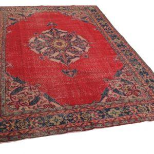 rood klassiek vloerkleed 312cm x 212cm