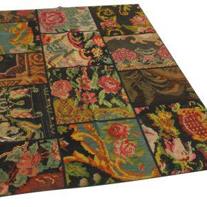 rozenkelim patchwork 202cm x 151cm