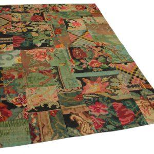 rozenkelim patchwork 244cm x 170cm