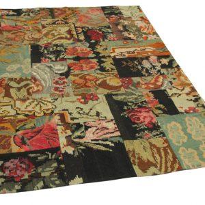 rozenkelim patchwork 232cm x 172cm