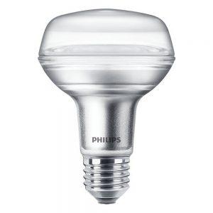 Philips CorePro LEDspot E27 Reflector R80 8W 827 36D   Extra Warm Wit - Vervangt 100W