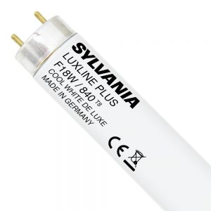 Sylvania T8 Luxline Plus F18W 840 | 60cm - Koel Wit