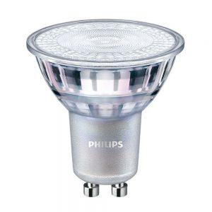 Philips LEDspot LV Value GU10 7W 830 36D (MASTER) | Warm Wit - Dimbaar - Vervangt 80W