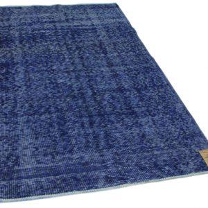 vintage vloerkleed donkerblauw 250cm x 150cm (libelle week 52)