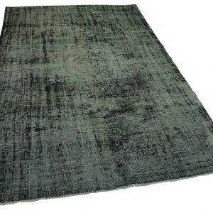 vintage vloerkleed zwart 283cm x 186cm