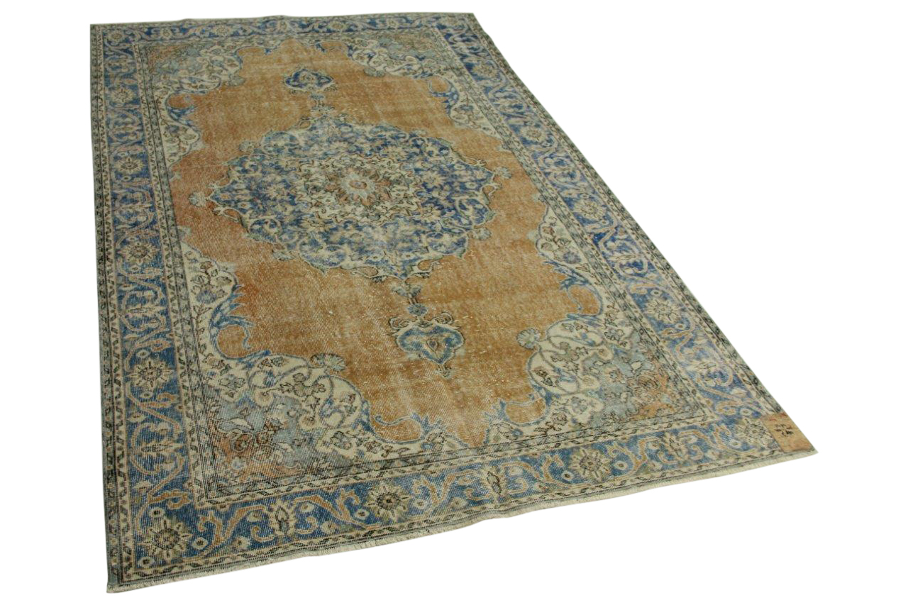 Tapijt Petrol Blauw : Blauw vintage karpet kopen vintage vloerkleden kameraankleden