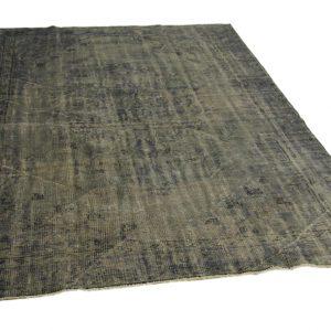 vintage vloerkleed, grijs, 263cm x 190cm