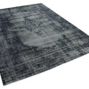 vintage vloerkleed zwart 361cm x 260cm