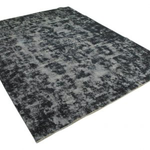 vintage vloerkleed zwart 360cm x 271cm