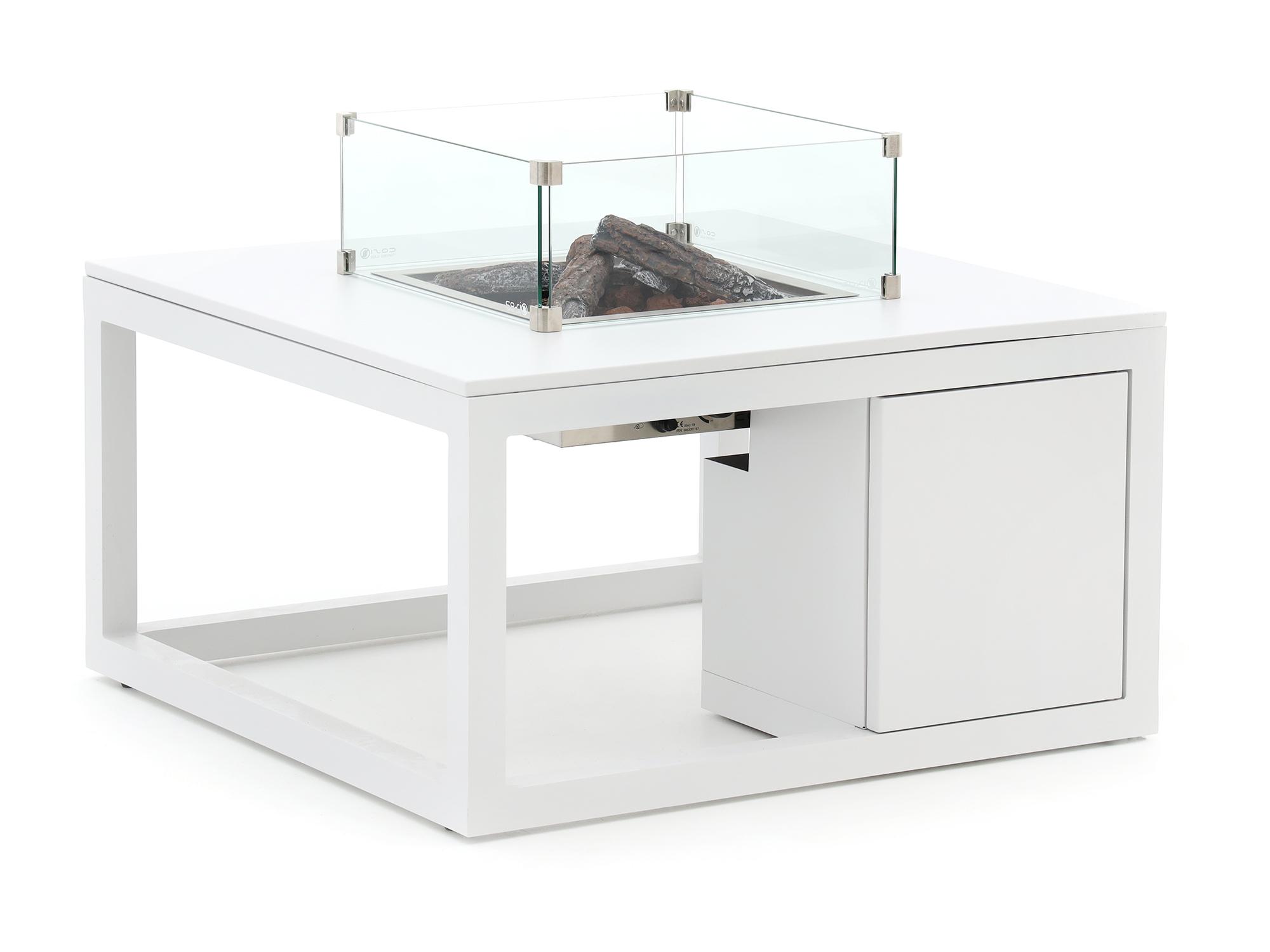 Cosiraw lounge vuurtafel 100x100x55cm - Laagste prijsgarantie!