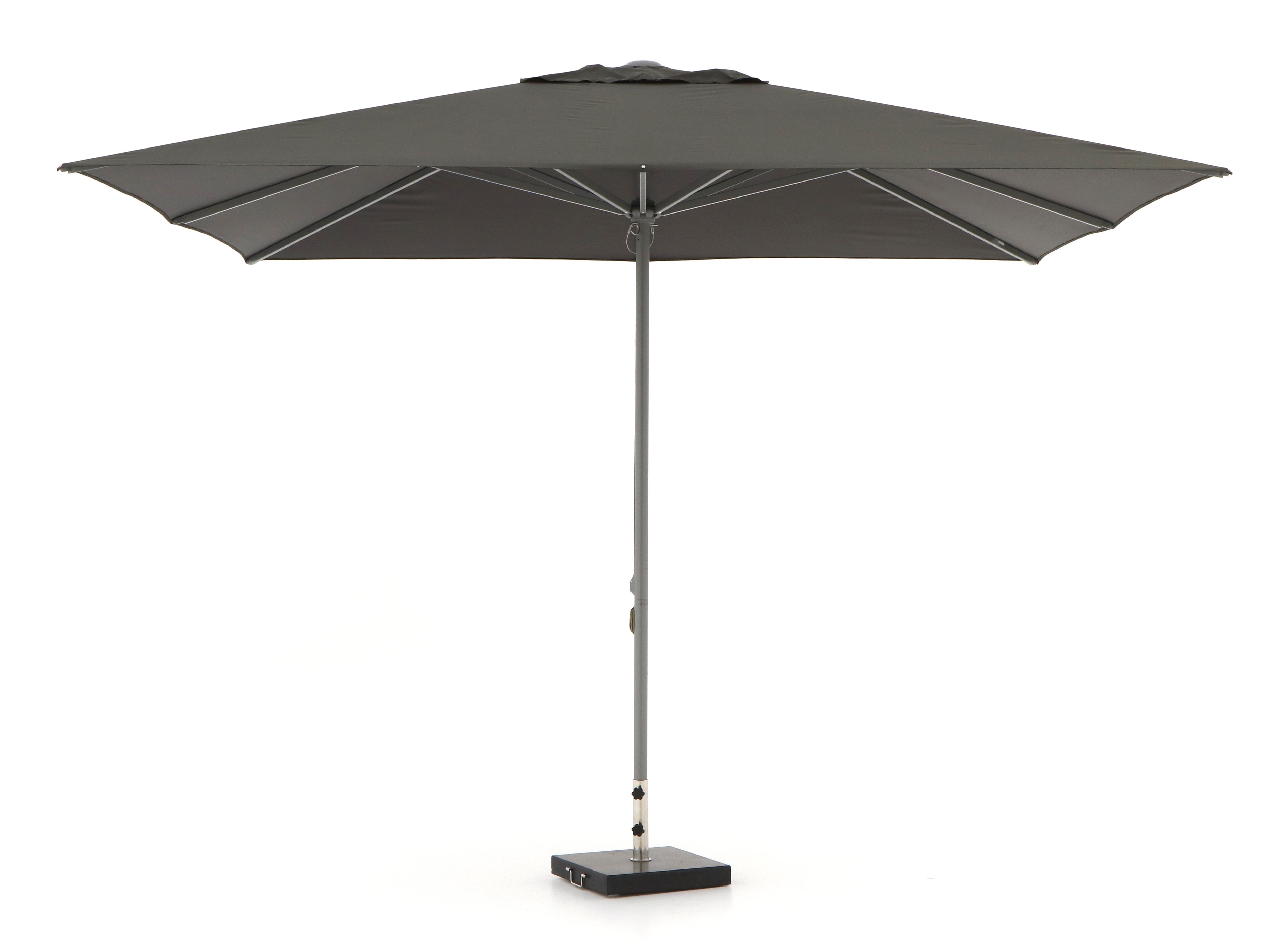 Shadowline Cuba parasol 350x350cm - Laagste prijsgarantie!