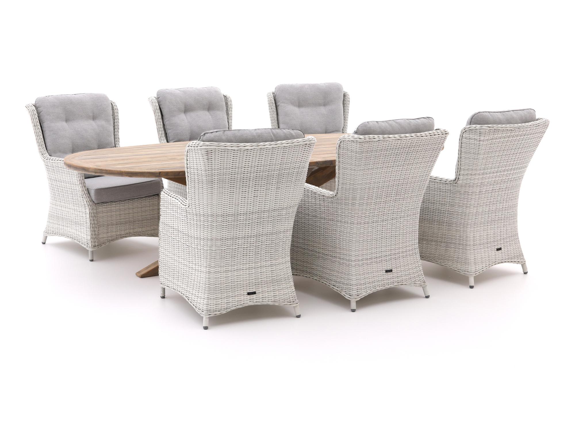 Intenso Milano/ROUGH-Y Ellips 280cm lounge-dining tuinset 7-delig - Laagste prijsgarantie!