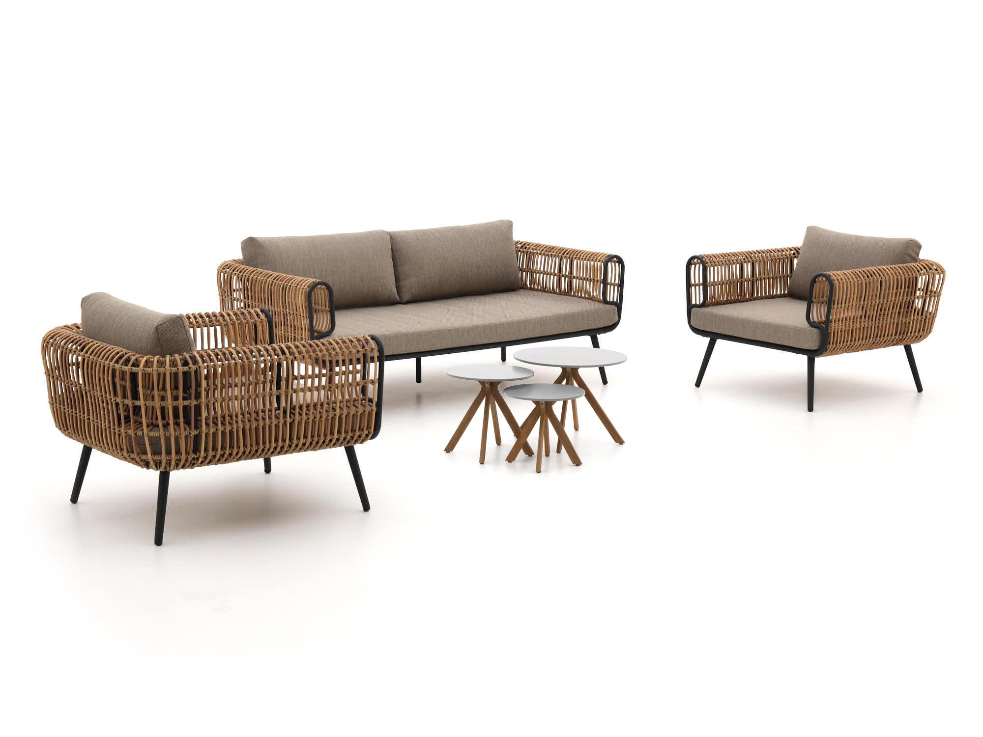 Intenso Averti/Vasaro stoel-bank loungeset 4-delig - Laagste prijsgarantie!