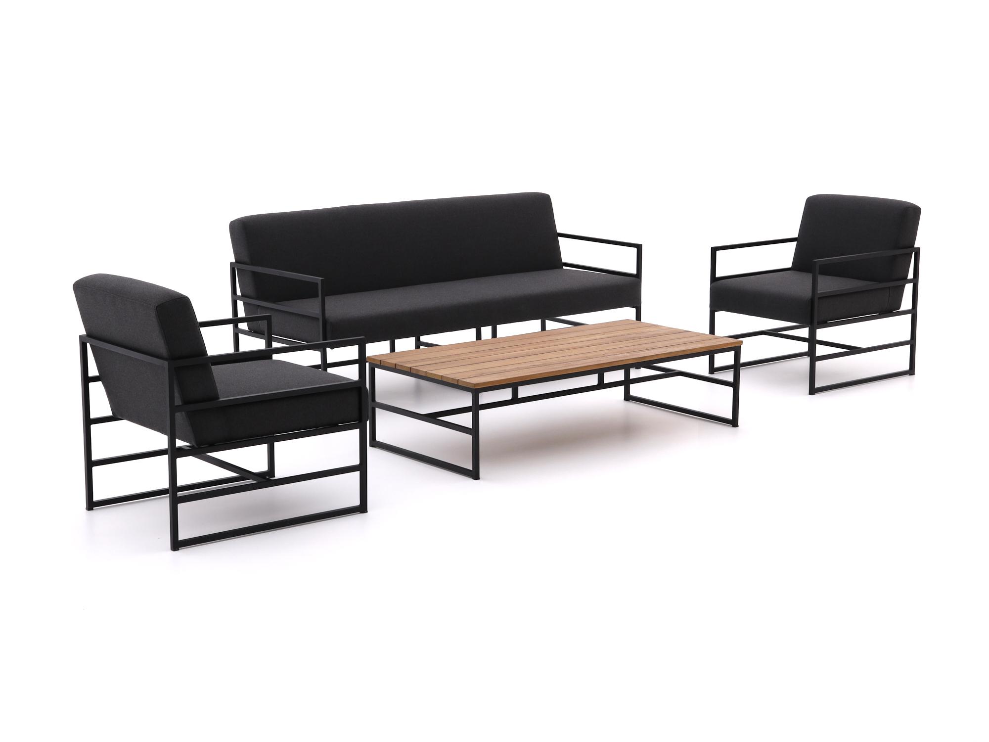 Hartman Amsterdam stoel-bank loungeset 4-delig - Laagste prijsgarantie!