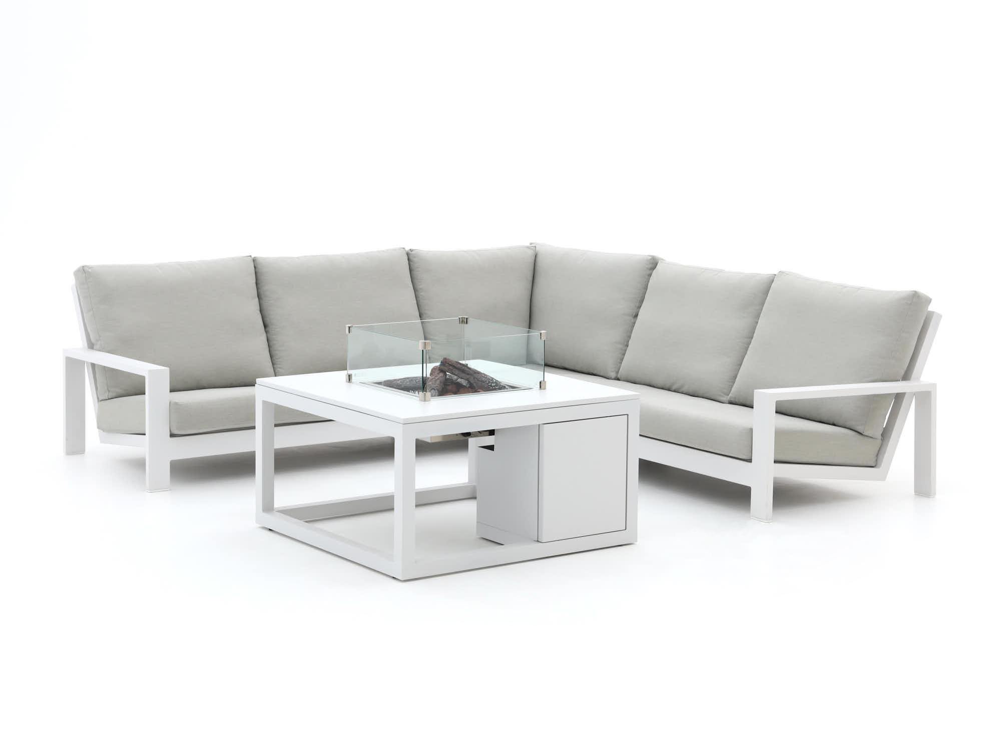 Bellagio Vezzano/Cosi 100cm hoek loungeset 4-delig - Laagste prijsgarantie!