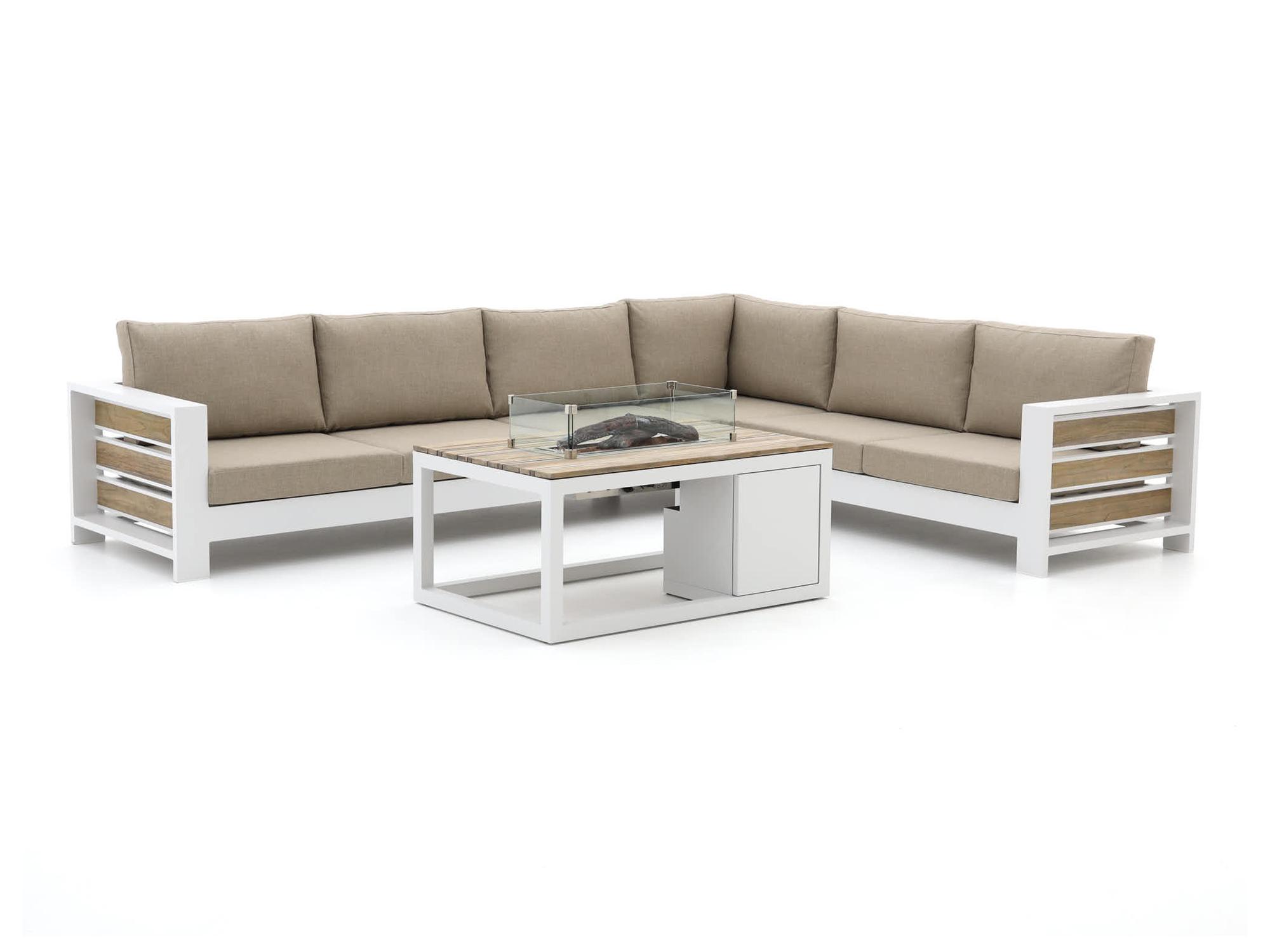 Bellagio Avolo/Cosiraw 120cm hoek loungeset 3-delig rechts - Laagste prijsgarantie!