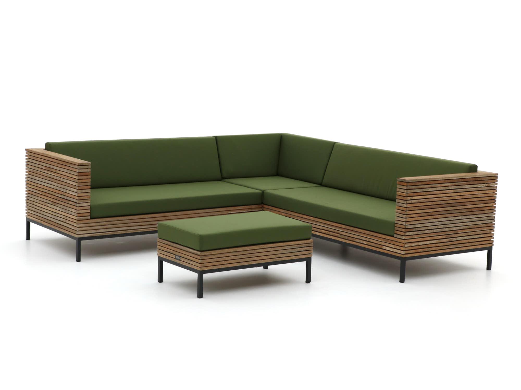 ROUGH-D hoek loungeset 4-delig - Laagste prijsgarantie!