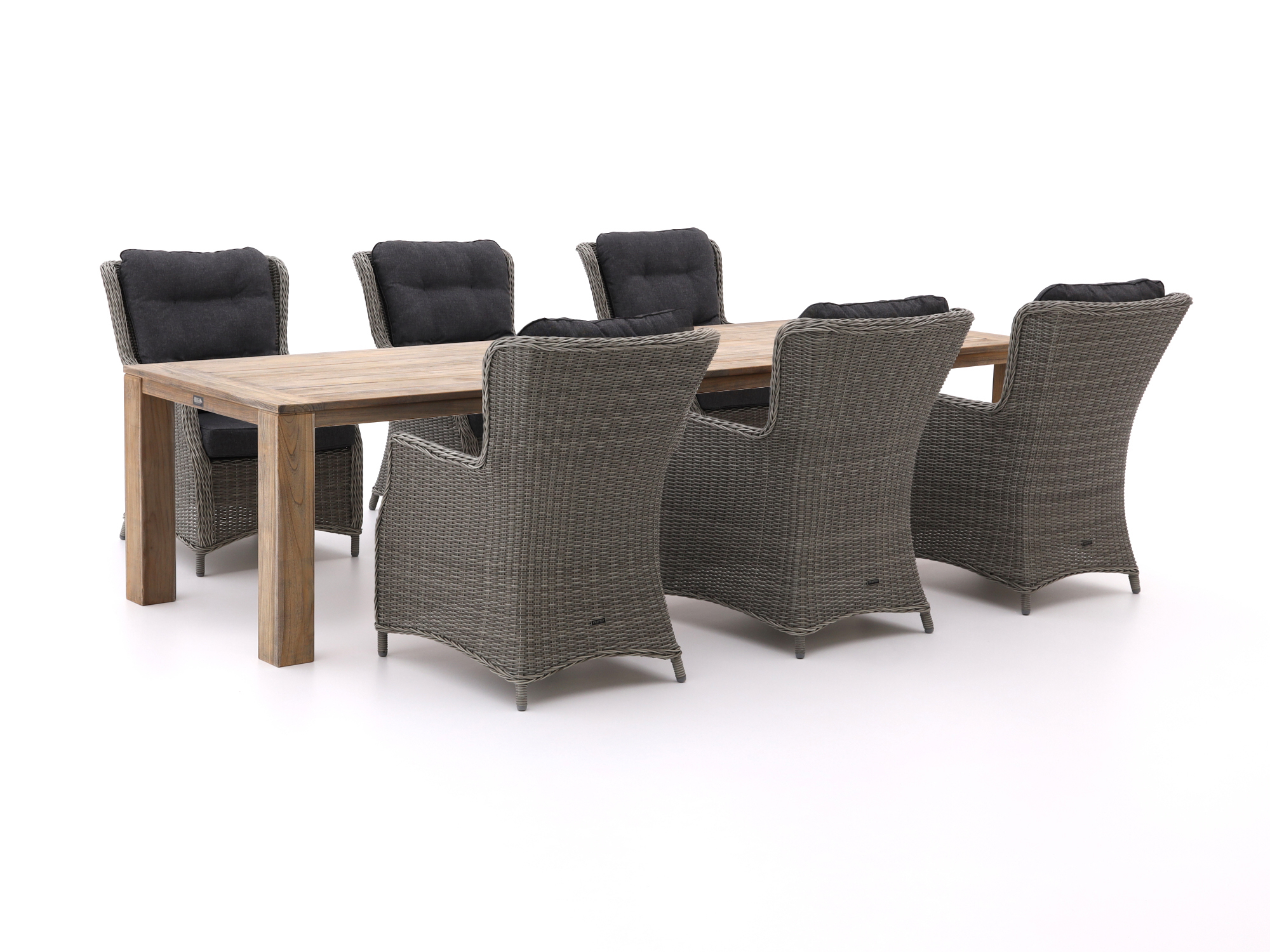 Intenso Milano/ROUGH-X 320cm lounge-dining tuinset 7-delig - Laagste prijsgarantie!
