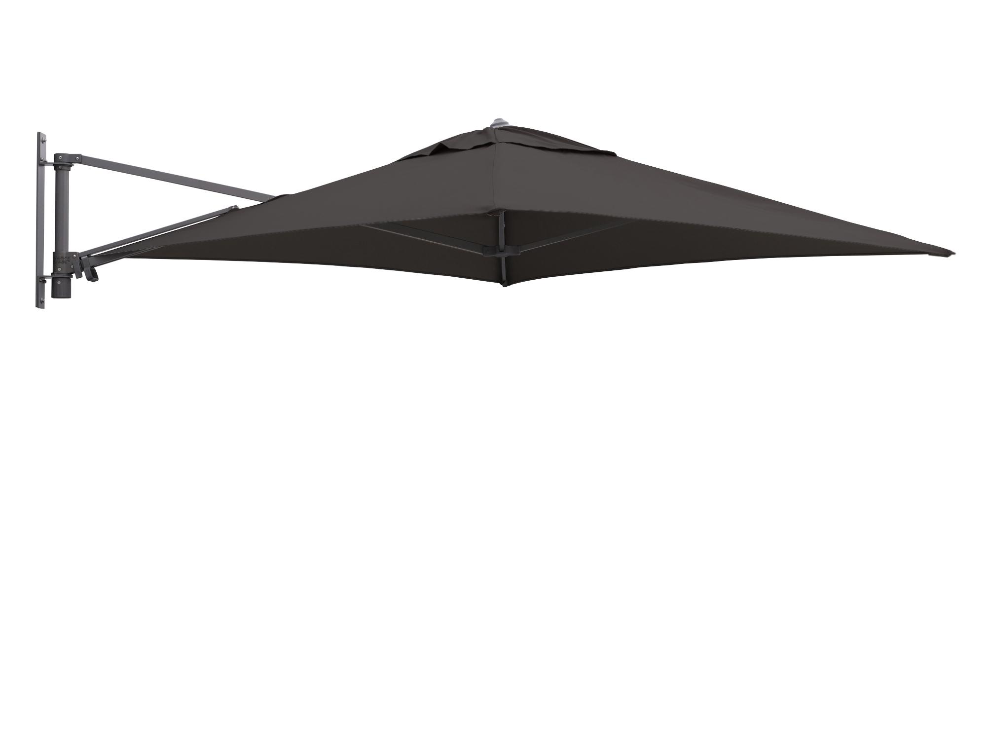 Shadowline muurparasol 200x200cm - Laagste prijsgarantie!