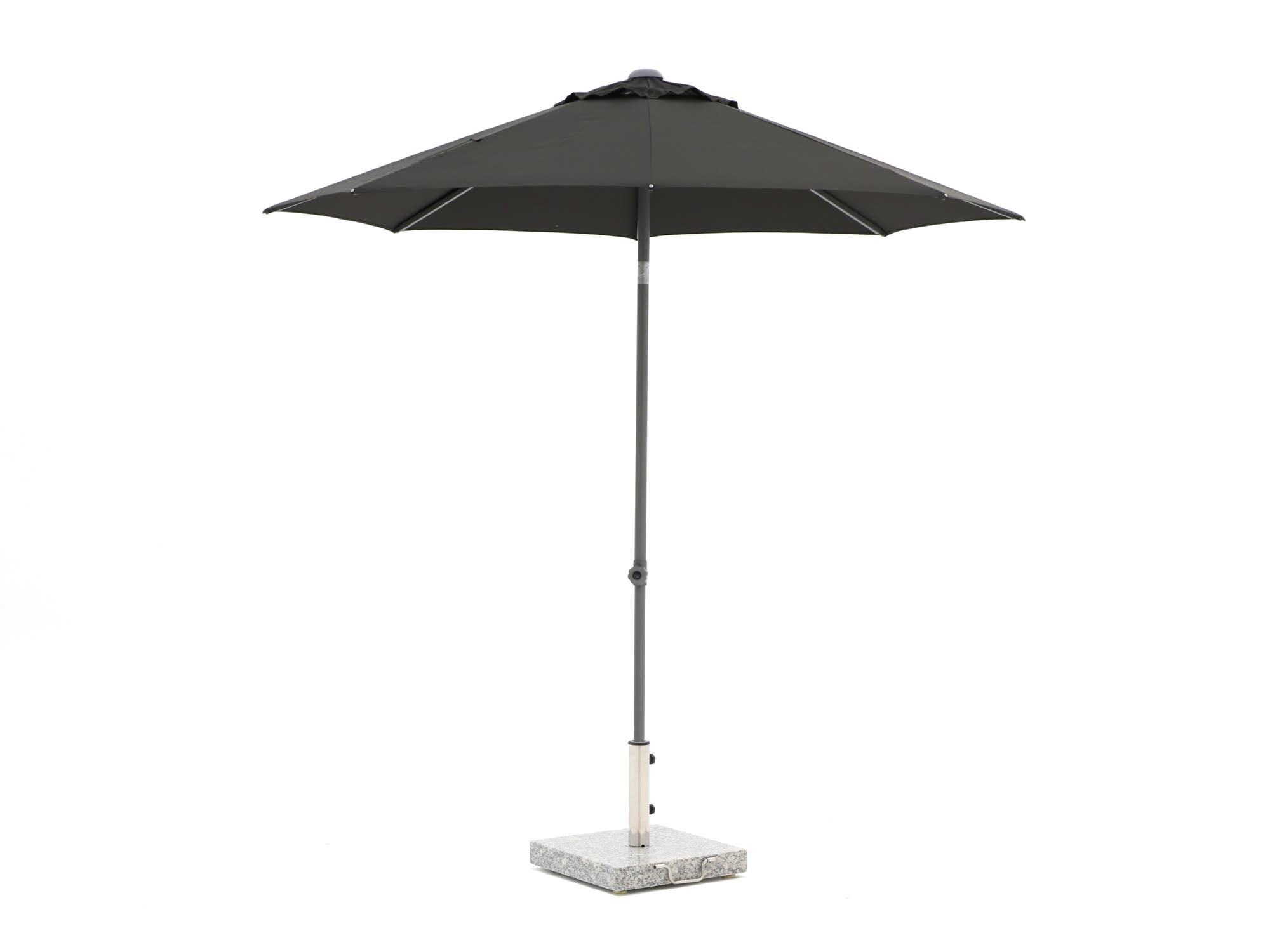 Shadowline Push-up parasol ø 250cm - Laagste prijsgarantie!