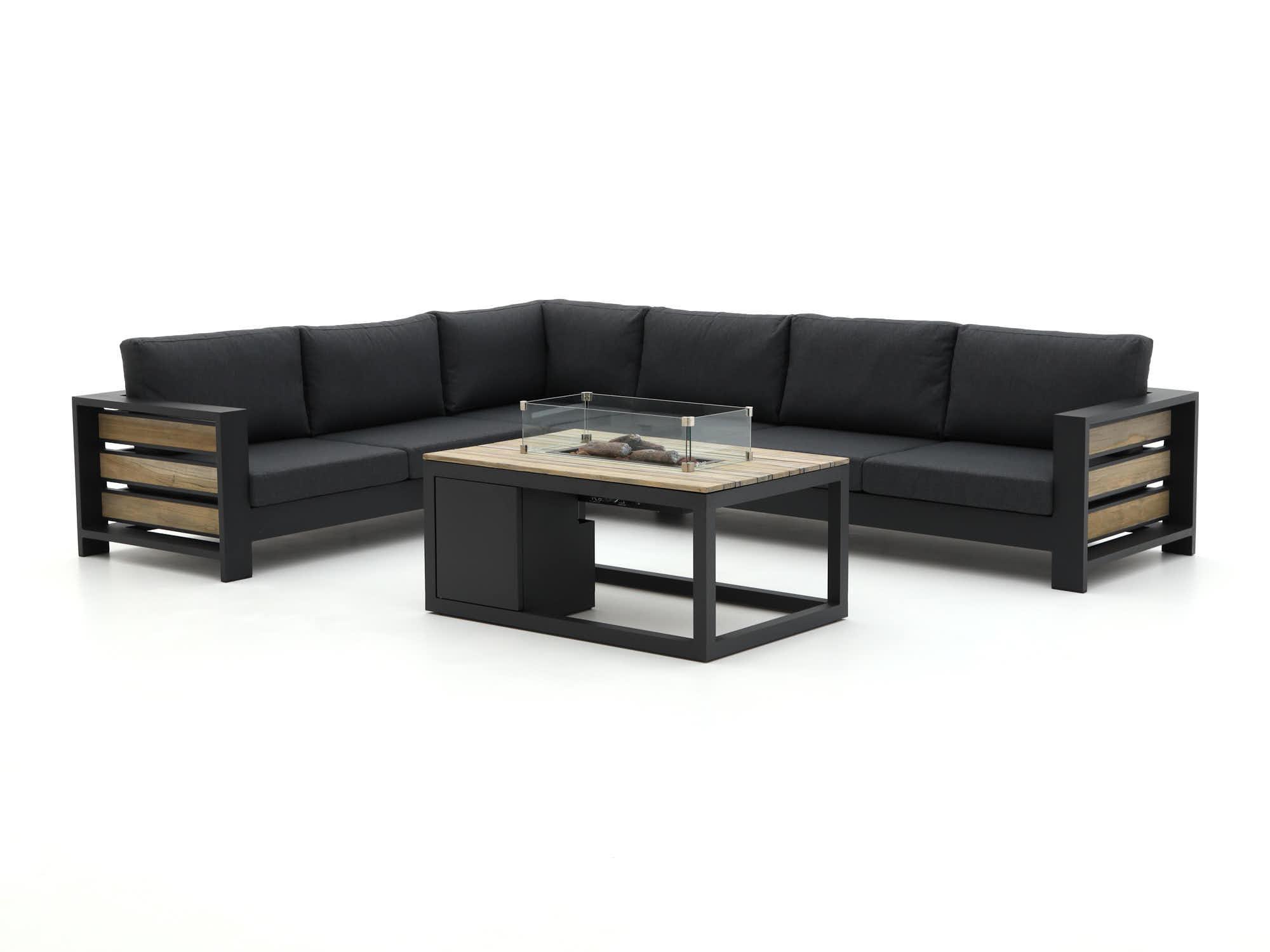 Bellagio Avolo/Cosiraw 120cm hoek loungeset 3-delig links - Laagste prijsgarantie!