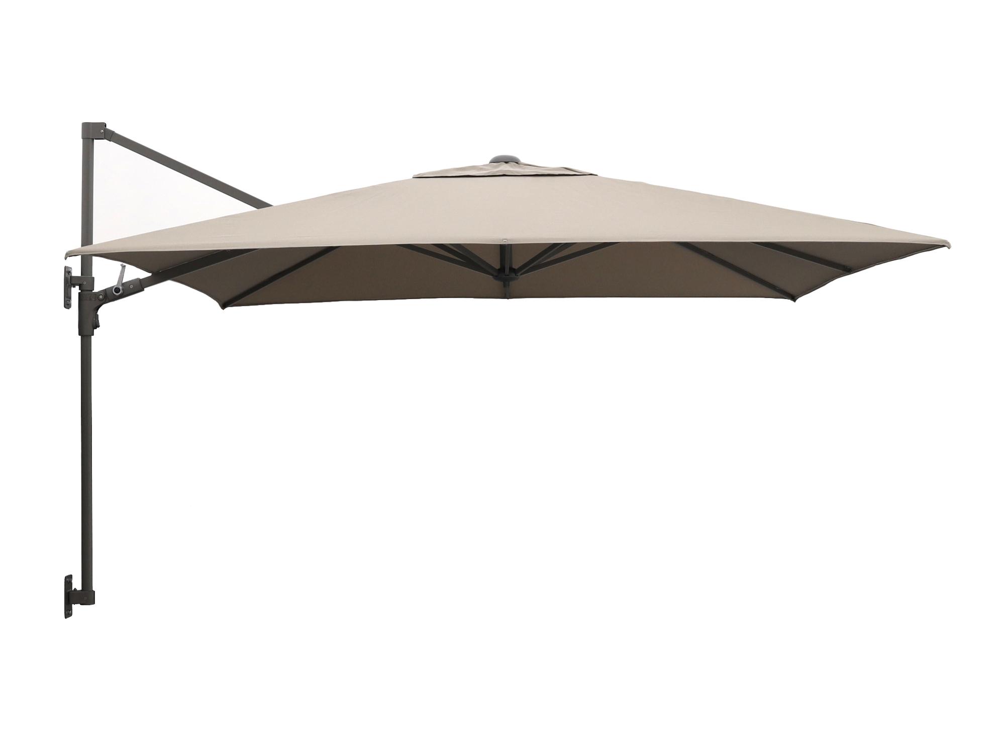 Shadowline muurparasol 250x250cm - Laagste prijsgarantie!