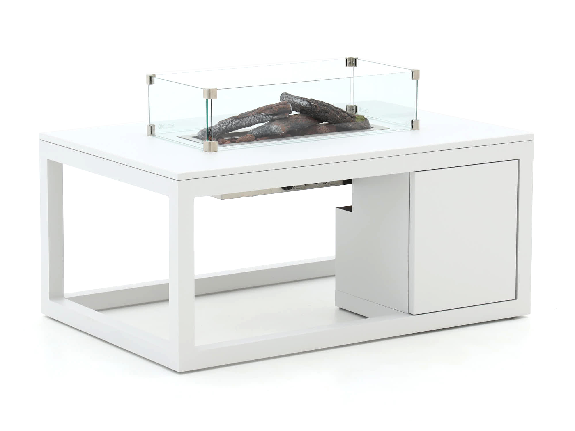 Cosiraw lounge vuurtafel 120x80x55cm - Laagste prijsgarantie!
